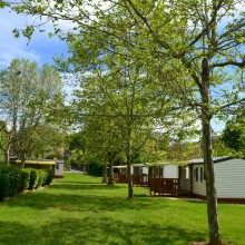 Camping Pré Rolland Mobil-home