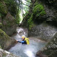 Canyoning grp Vercors