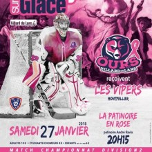 patinoire en rose