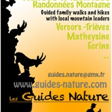 Programmation estivale des Guides Nature