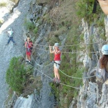 Via corda ou ferrata
