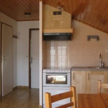 location appartement Meaudre Vercors - coin cuisine