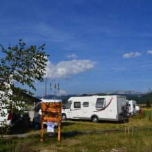 Aire camping cars Vassieux